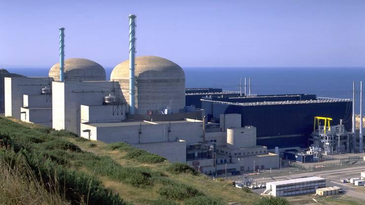 Das Atomkraftwerk von Flamanville in der französischen Normandie.