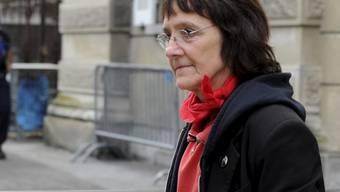 Die Zürcher Linksaktivistin Andrea Stauffacher nimmt die gegen sie ausgesprochene Gefängnisstrafe nicht hin.