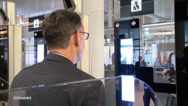 Automatische Passkontrolle am Flughafen Zürich