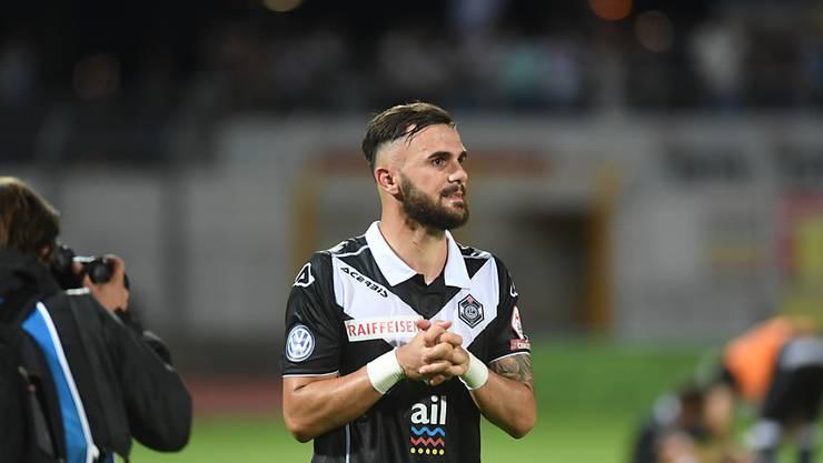 Das Beten von Armando Sadiku half: Lugano holte sich den 3. Rang in der Super League