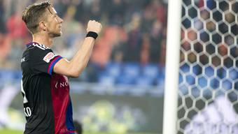 Marc Janko erzielte den Basler Treffer zum 2:1.