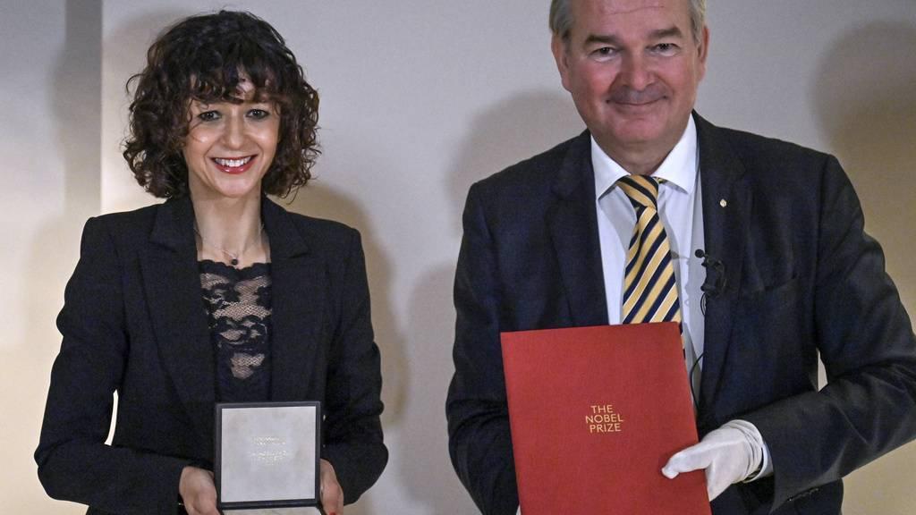 Erfinderin von Gen-Schere in Berlin mit Chemie-Nobelpreis geehrt