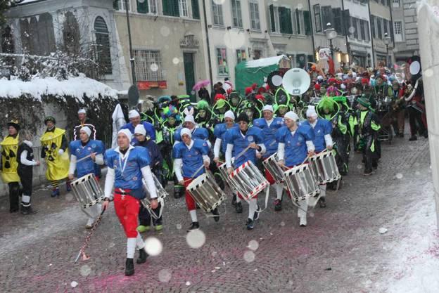 Der heiss begehrte Zapfenstreich von Solothurn