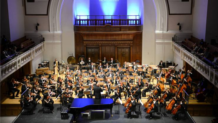 Das Sinfonieorchester Basel in der Cadogan-Hall in London. (Archiv)