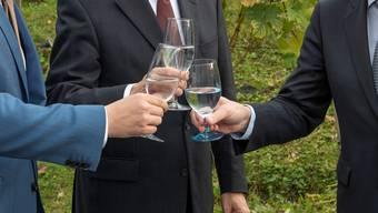 «Männer tauschen sich nicht aus ohne Glas.» (Symbolbild)