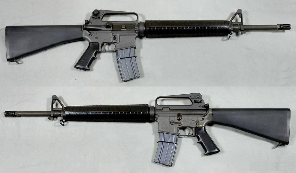 Mit so einem M16-Sturmgewehr schoss der Täter um sich.