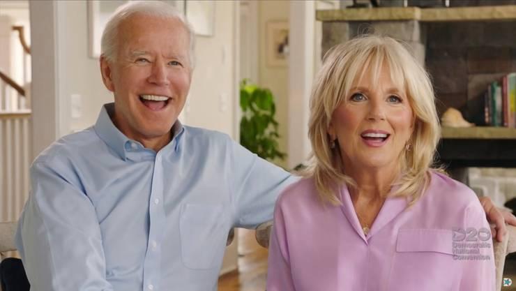 Jill Biden mit Ehemann Joe: Sie ist das Rückgrat der Familie.