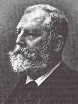 Emil Frey war von 1890 bis 1897 Bundesrat.