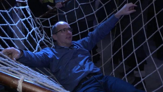 Männerfang in Fahrwangen: So ging Fredy ins Netz.