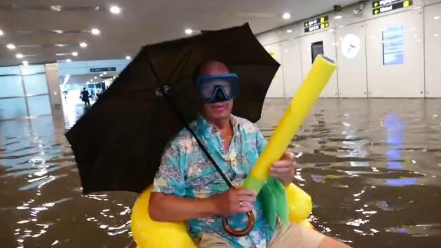 Upps(ala): Bahnhof wird zum Pool