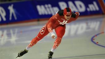 Der Urdorfer Christian Oberbichler möchte dieses Jahr möglichst viel auf dem Eis trainieren, um in Form zu kommen. zvg