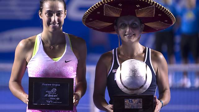 Timea Bacsinszky gewinnt in Mexiko den 2. WTA-Titel ihrer Karriere