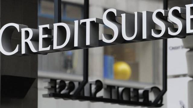 Logo der Bank Credit Suisse (Archiv)
