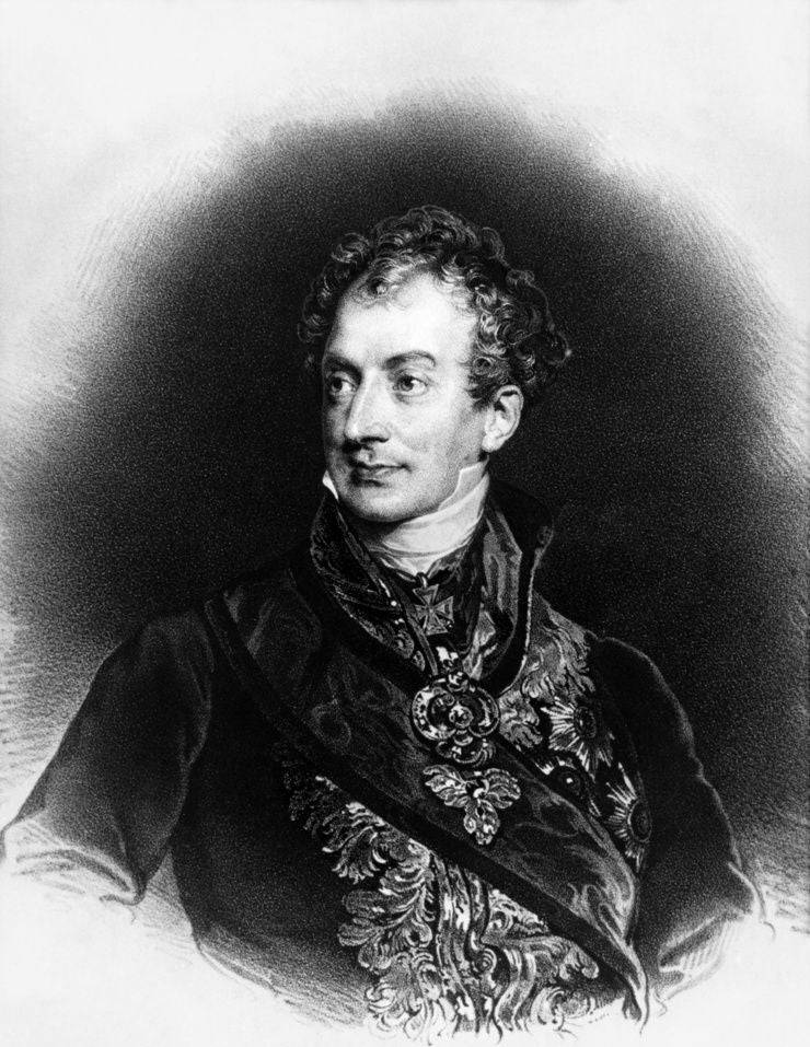 Fürst Metternich (1773-1859).