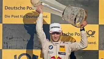 Der Deutsche Marco Wittmann wurde zum zweiten Mal DTM-Champion