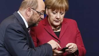 Der scheidende EU-Parlamentspräsident Martin Schulz (SPD) hat in Deutschland kräftig an Beliebtheit zugelegt.