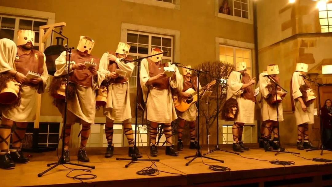 Solothurner Fasnacht: Der Ambassadore Bäse am Höflisingen 2020