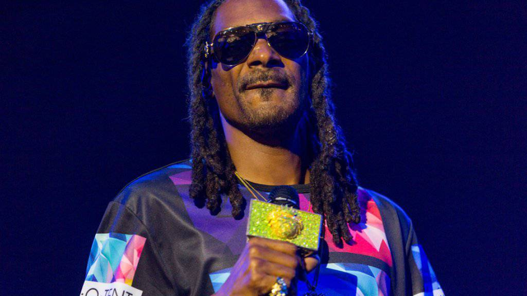 Snoop Dogg hat jetzt ein eigenes Marihuana-Label (Archiv).
