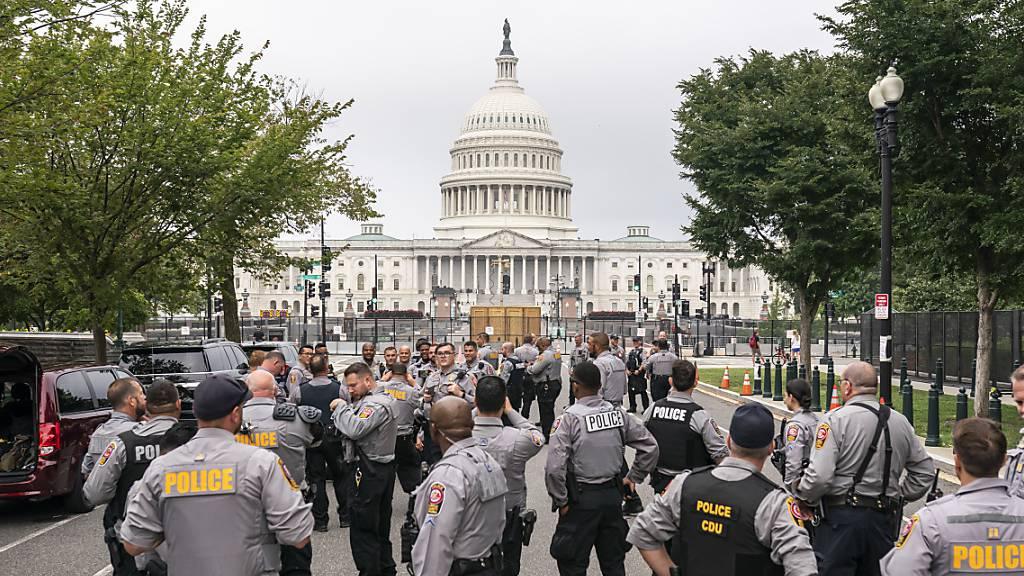 Washington rüstet sich für Pro-Trump-Demonstration am Kapitol