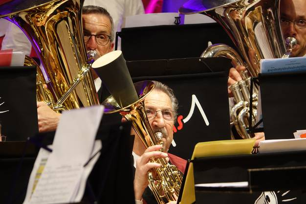 Impression vom Jahresevent 'bsteck und musig' mit der MG Untersiggenthal und Badenia Baden.