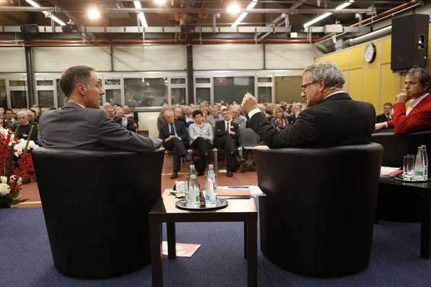 Benno Bueler im Gespräch mit Moderator Werner De Schepper