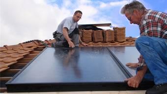 Die staatliche Förderung von Solaranlagen soll in der Kantonsverfassung verankert werden.
