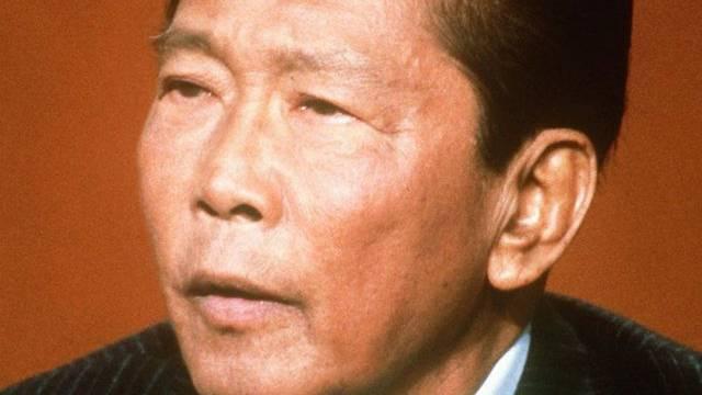 Der philippinische Diktator Ferdinand Marcos im Jahr 1982 (Archiv)