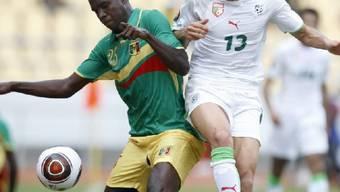 Algerien siegte beim Afrika-Cup gegen Mali
