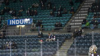 Auch die Swiss League spielt trotz leeren Zuschauerrängen weiter