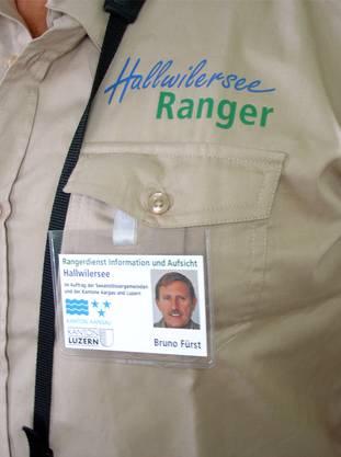 Die Hallwilersee-Ranger haben eine neue Trägerschaft erhalten. tf