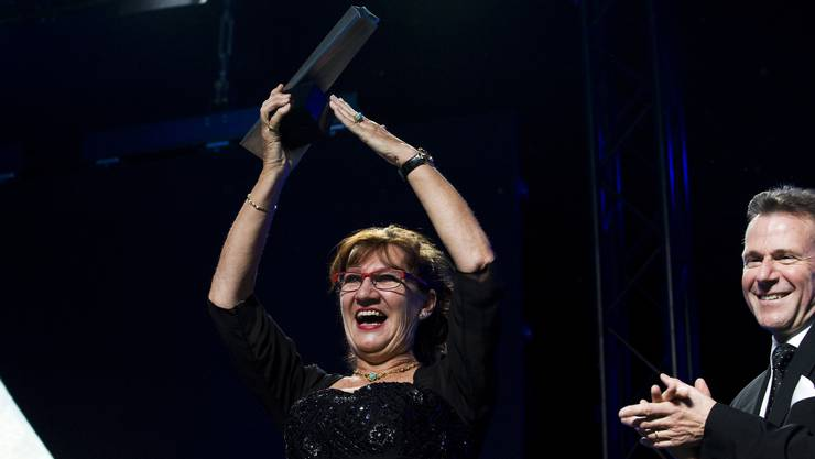 Claire Hoerdt wurde 2011 zur Aargauerin des Jahres gewählt (Archiv)
