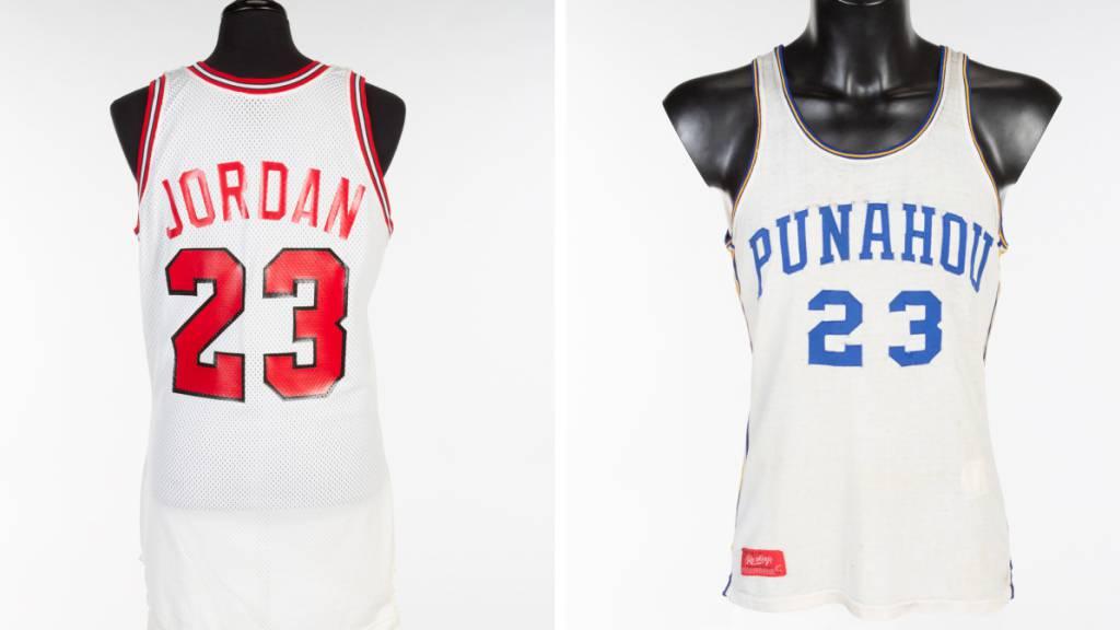 Basketball-Trikot von Michael Jordan für Rekordpreis versteigert