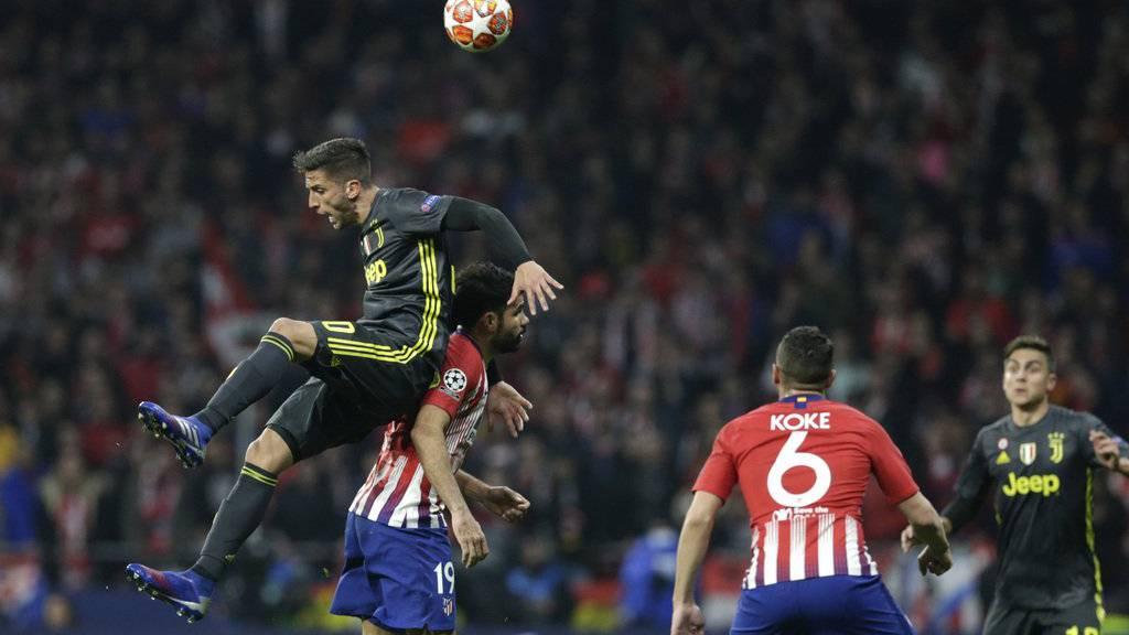 Atlético schlägt Juventus 2:0