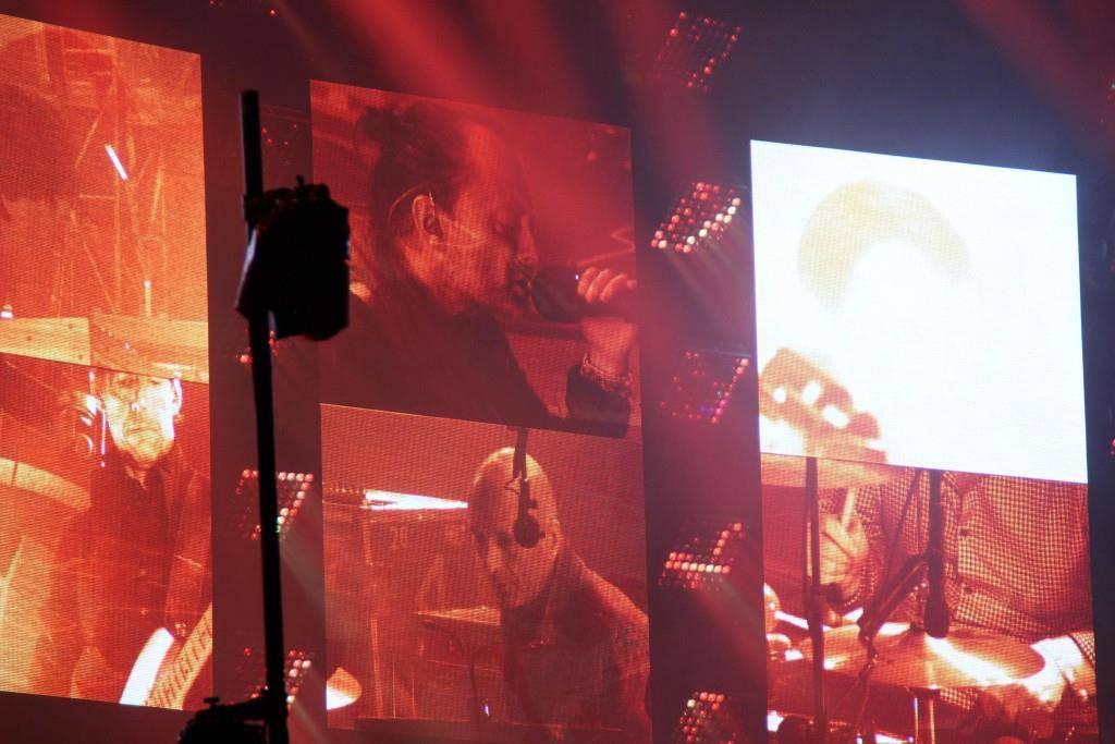 Radiohead auf der Sitterbühne am OASG (© FM1Today)
