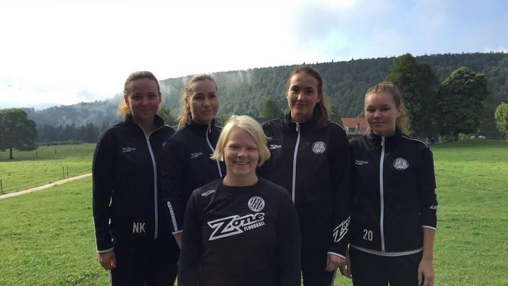 Die neuen finnischen Spielerinnen von Basel Regio