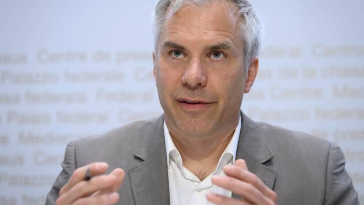 Martin Ackermann, Experte für Mikrobiologie, ist seit dem 1. August 2020 der Chef der Covid-19-Taskforce des Bundes.