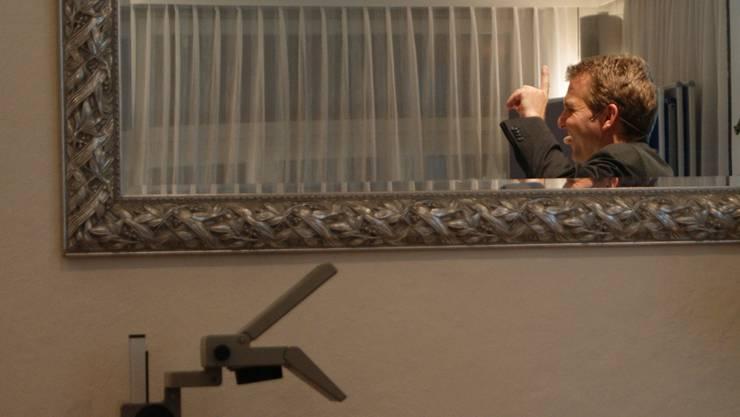 Auf dem Weg nach oben: Dietikon-Präsident Thomi Roth (hier an der Generalversammlung 2012) freut sich über die erste Mannschaft.bier