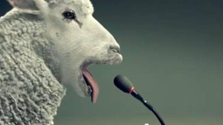 Blökendes Schaf statt heulende Sirene  Werbespot des Bundesamts für Bevölkerungsschutz für Sirenenalarm