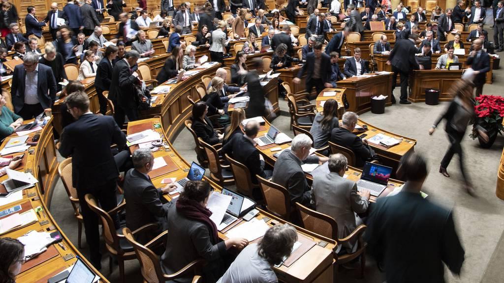 Bundesrat erfüllt Aufträge des Parlaments in angemessener Weise