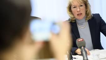 Medien berichten über Missstände im Generalsekretariat des Waadtländer Raumplanungs- und Umweltdepartements von Jacqueline de Quattro. (Archiv)