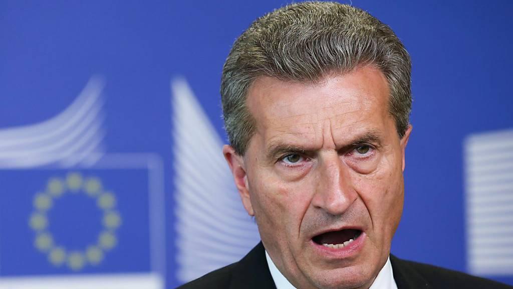 Früherer EU-Kommissar sieht Rahmenvertrag nicht vor 2021