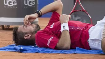 Wawrinka musste gegen Lopez wegen Rückenproblemen aufgeben