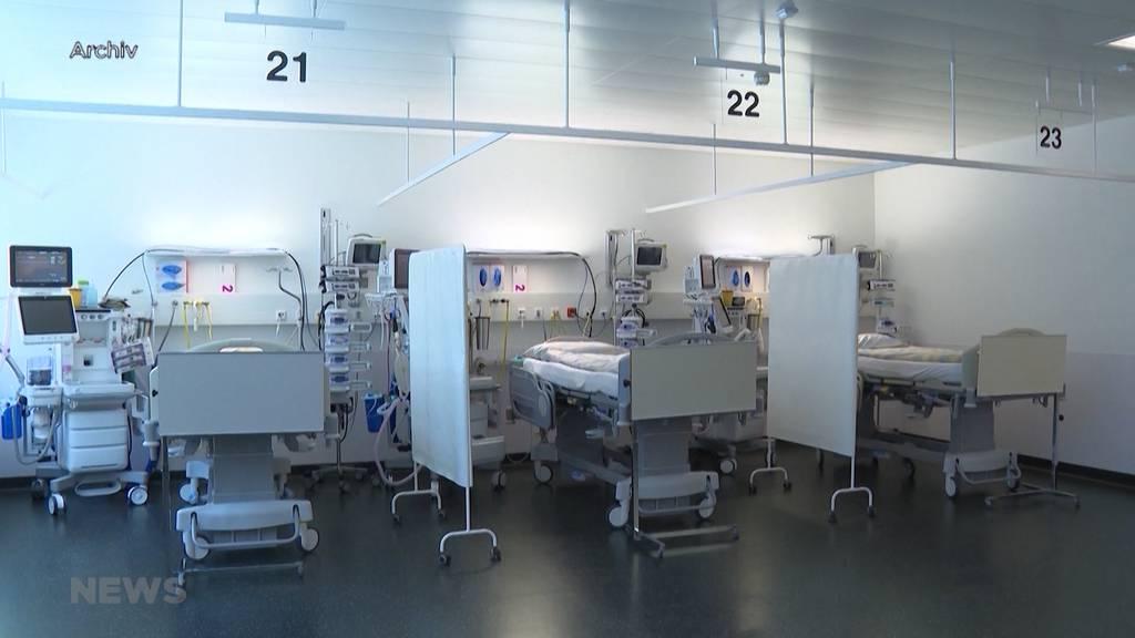 Corona-Hospitalisierungen nehmen in Bern zeitversetzt weiterhin zu