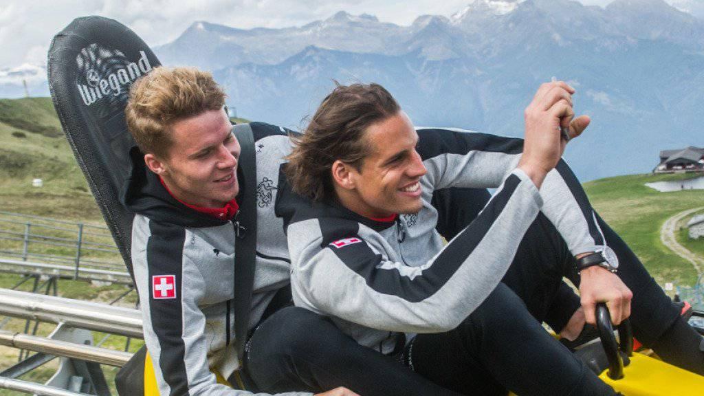 Geschätztes Preis-Leistungs-Paket: Nico Elvedi und Yann Sommer sind zwei von nunmehr fünf Schweizern bei Borussia Mönchengladbach