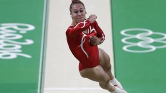 Giulia Steingruber möchte als erste Schweizer Kunstturnerin eine Olympia-Medaille gewinnen