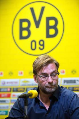 Nach einer schwachen Hinrunde ging Jürgen Klopp im Mai 2015 bei Borussia Dortmund freiwillig.