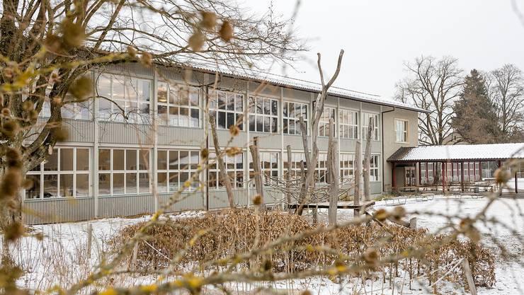 Die Schule Aarau (hier das Primarschulhaus Gönhard) soll mit der Kreisschule Buchs-Rohr zur Kreisschule Aarau-Buchs fusionieren. .