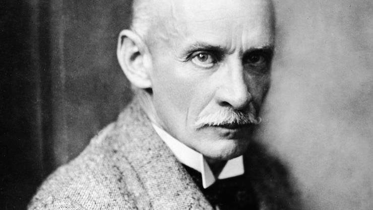 Der Schriftsteller Gustav Meyrink 1928.