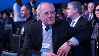 «Das Vereinigte Königreich wird zu neuem Partner»: Wirtschaftsminister Schneider-Ammann in Davos. Valeriano Di Domenico/WEF