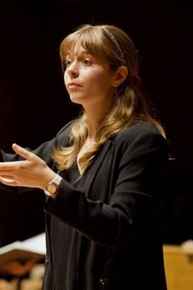 Die Chorleiterin arrangierte speziell für ihren Chor sieben Mani-Matter-Lieder.
